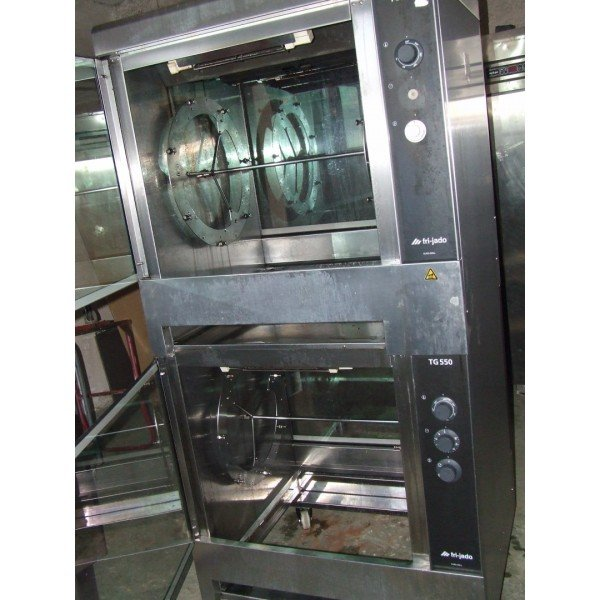 TG550 two storey grilled chicken oven Barbecue chicken oven